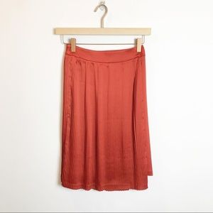 Banana RepublicxOlivia Palermo | Orange Skirt NWOT